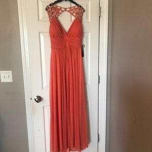 Floor length Betsy & Adam evening gown Size 12